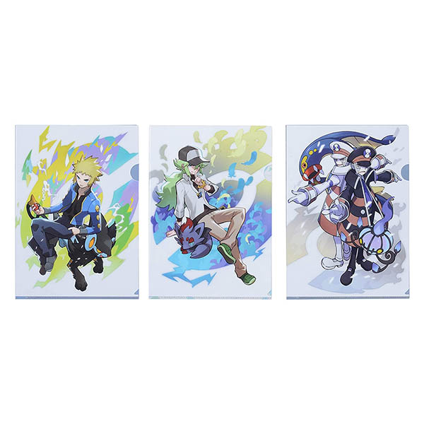 A4クリアファイル 3枚セット Pokémon Trainers デンジ&N&ノボリ&クダリ買取